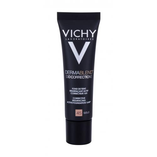 Vichy Dermablend™ 3D Correction SPF25 make-up 30 ml pro ženy 45 Gold