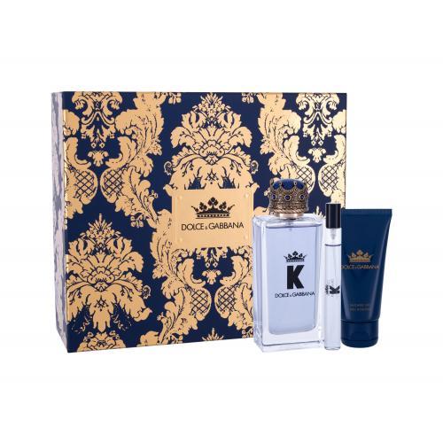 Dolce&Gabbana K dárková kazeta toaletní voda 100 ml + sprchový gel 50 ml + toaletní voda 10 ml pro muže