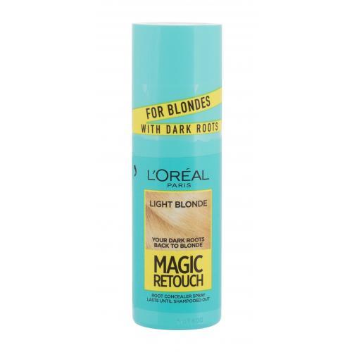 L´Oréal Paris Magic Retouch Instant Root Concealer Spray 75 ml sprej pro zakrytí odrostů pro ženy Light Blonde