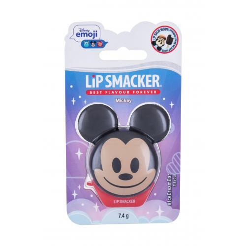 Lip Smacker Disney Emoji Mickey 7,4 g hydratační balzám na rty pro děti Ice Cream Bar