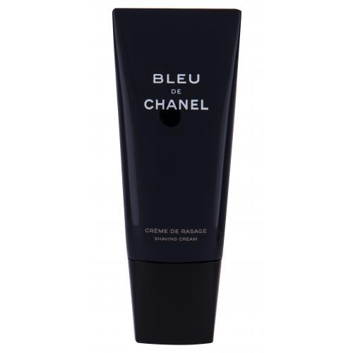 Chanel Bleu de Chanel krém na holení 100 ml poškozená krabička pro muže