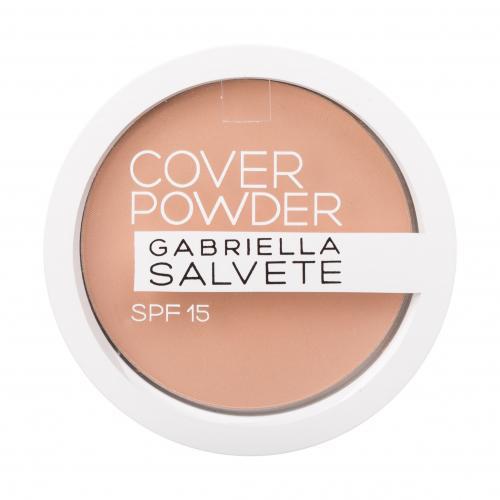 Gabriella Salvete Cover Powder SPF15 9 g kompaktní pudr s vysoce krycím efektem pro ženy 02 Beige