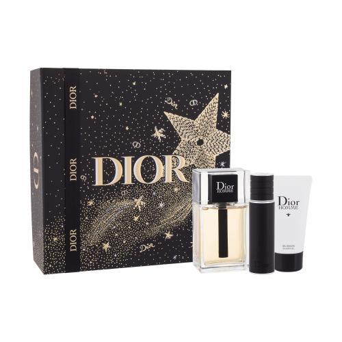 Christian Dior Dior Homme 2020 dárková kazeta toaletní voda 100 ml + sprchový gel 50 ml + toaletní voda 10 ml pro muže