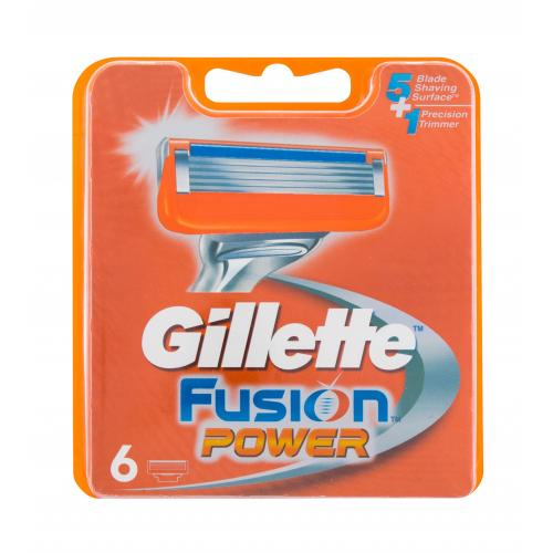 Gillette Fusion Power 6 ks náhradní břit pro muže
