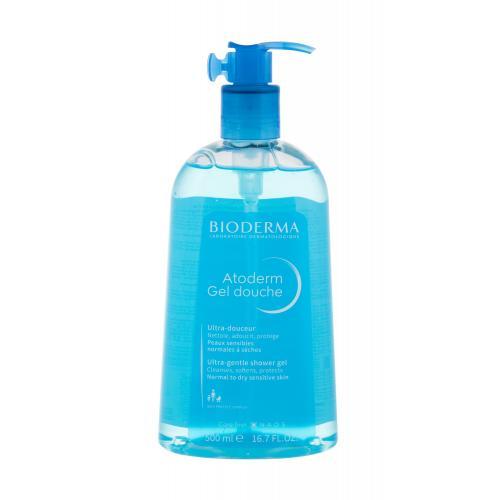 BIODERMA Atoderm Ultra-Gentle 500 ml jemný sprchový gel pro normální až suchou citlivou pokožku pro ženy