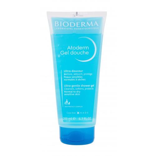 BIODERMA Atoderm Ultra-Gentle 200 ml jemný sprchový gel pro normální až suchou citlivou pokožku pro ženy