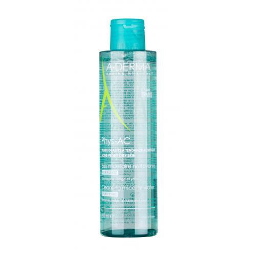 A-Derma Phys-AC Purifying Cleansing Micellar Water 200 ml čisticí a odličovací micelární voda pro pleť se sklonem k akné pro ženy
