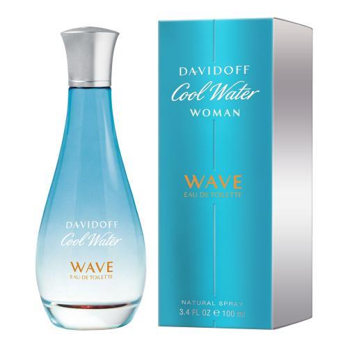 Davidoff Cool Water Wave Woman toaletní voda 100 ml pro ženy