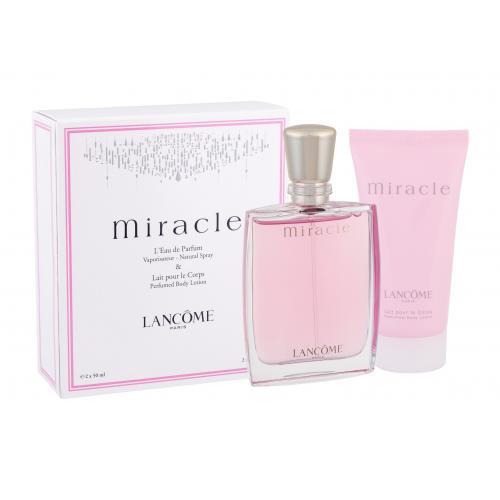Lancôme Miracle dárková kazeta parfémovaná voda 50 ml + tělové mléko 50 ml pro ženy