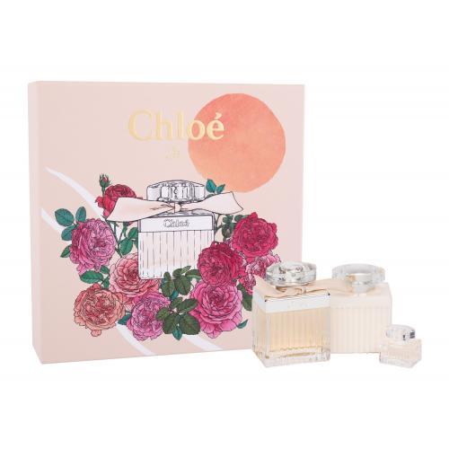 Chloé Chloé dárková kazeta parfémovaná voda 75 ml + tělové mléko 100 ml + parfémovaná voda 5 ml pro ženy