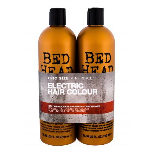 Tigi Bed Head Colour Goddess dárková kazeta šampon 750 ml + kondicionér 750 ml pro ženy