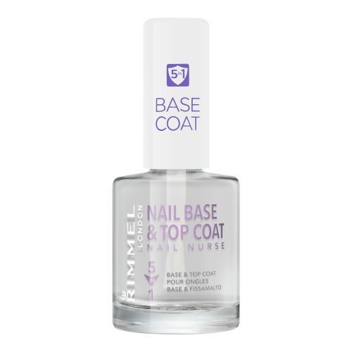 Rimmel London Nail Nurse Base & Top Coat 12 ml pečující lak na nehty pro ženy