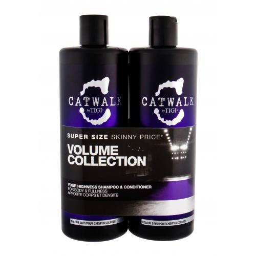 Tigi Catwalk Your Highness dárková kazeta šampon 750 ml + kondicionér 750 ml pro ženy
