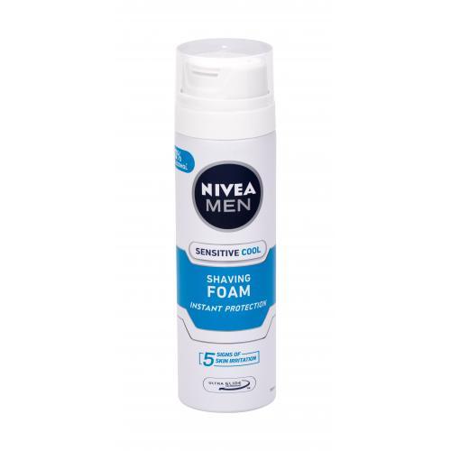 Nivea Men Sensitive Cool pěna na holení 200 ml pro muže