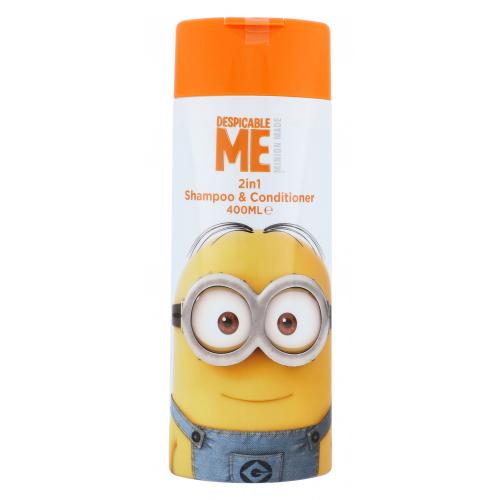Minions Hair Care 2in1 Shampoo & Conditioner šampon 400 ml pro děti