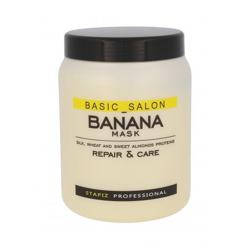 Stapiz Basic Salon Banana Mask maska na vlasy 1000 ml pro ženy