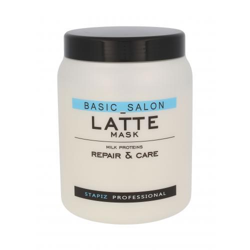 Stapiz Basic Salon Latte maska na vlasy 1000 ml pro ženy