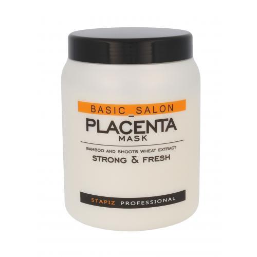 Stapiz Basic Salon Placenta maska na vlasy 1000 ml pro ženy