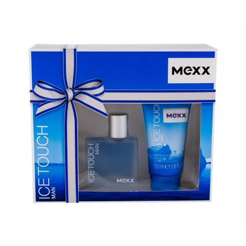 Mexx Ice Touch Man 2014 dárková kazeta toaletní voda 30 ml + sprchový gel 50 ml pro muže