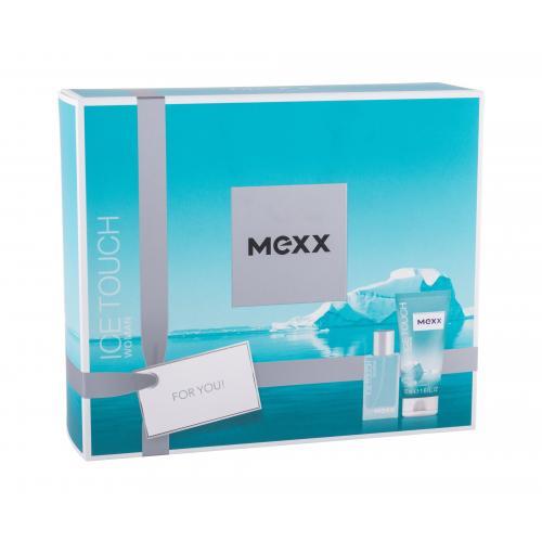 Mexx Ice Touch Woman 2014 dárková kazeta toaletní voda 15 ml + sprchový gel 50 ml pro ženy