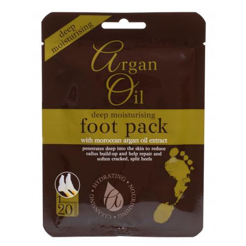 Xpel Argan Oil Deep Moisturising Foot Pack krém na nohy 1 ks pro ženy