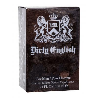 Juicy Couture Dirty English For Men Toaletní voda pro muže 100 ml