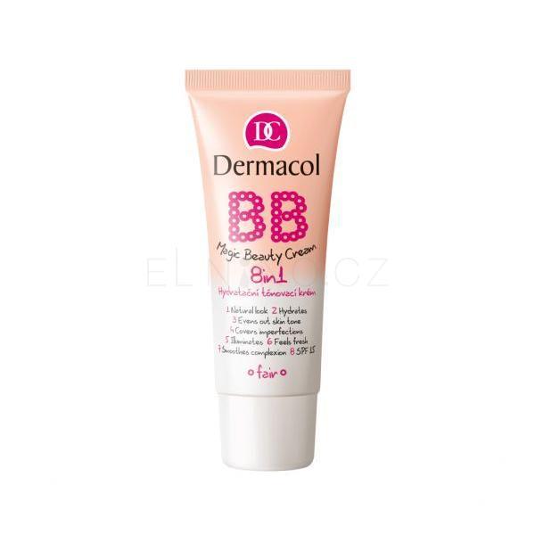 Dermacol BB krém 8v1 Magic Beauty Cream, shell, 30 ml
