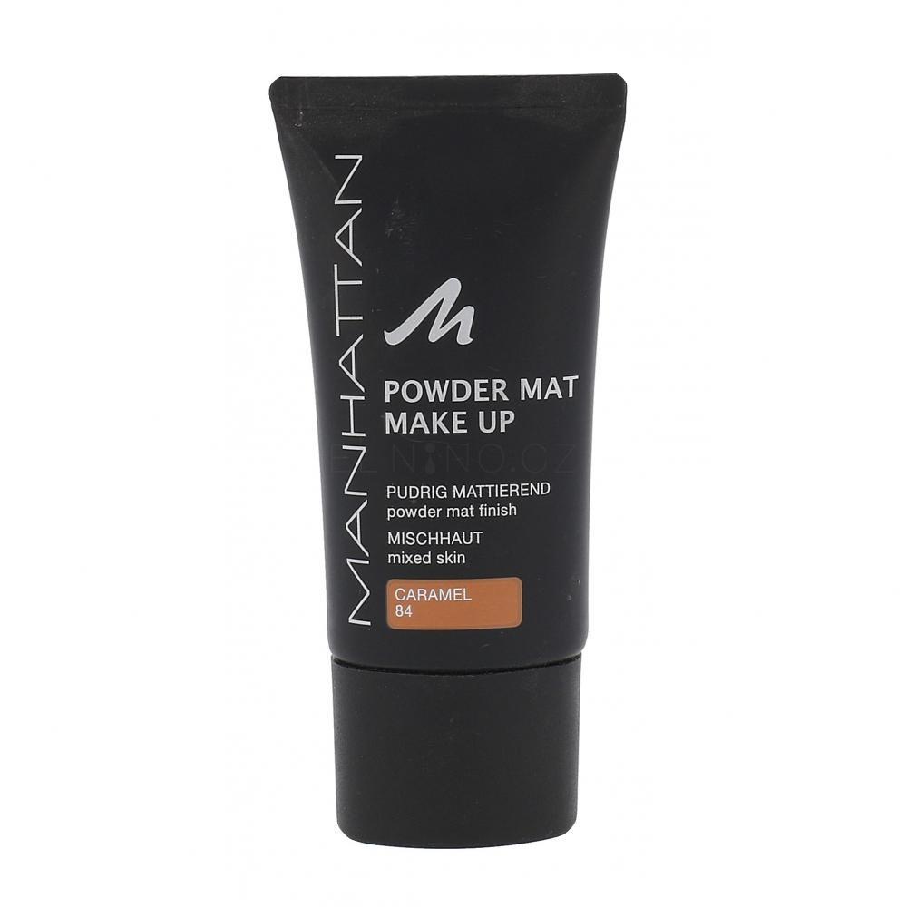 Manhattan Powder Mat Make-up pro ženy 30 ml Odstín 84 Caramel