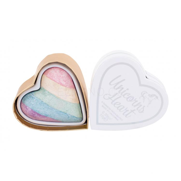 Makeup Revolution London I Heart Revolution Triple Baked Highlighter Rozjasňovač pro ženy 10 g Odstín Unicorns Heart