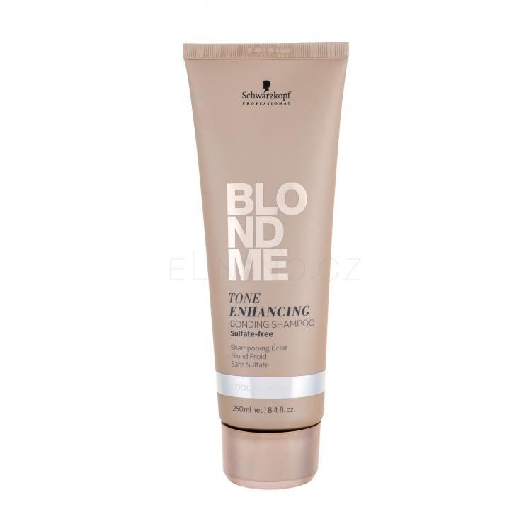 Schwarzkopf Blond Me Tone Enhancing Bonding Shampoo Šampon pro ženy 250 ml Odstín Cool Blondes