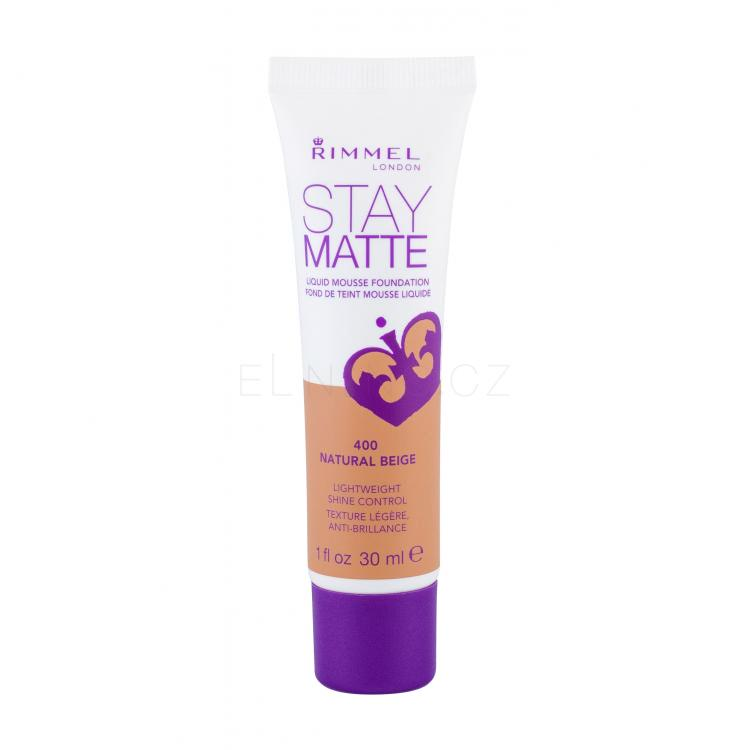 Rimmel London Stay Matte Liquid Mousse Foundation Make-upy pro ženy