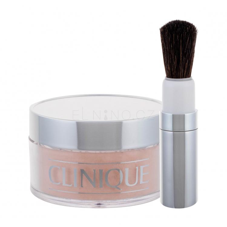 Clinique Blended Face Powder And Brush Pudr pro ženy 35 g Odstín 04 Transparency
