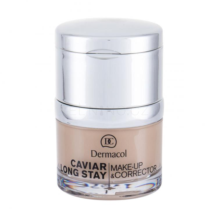 Dermacol Caviar Long Stay Make-Up & Corrector Make-up pro ženy 30 ml Odstín 2 Fair