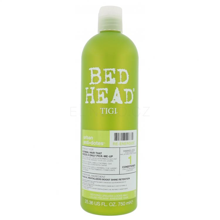 Tigi Bed Head Re-Energize Kondicionér pro ženy 750 ml