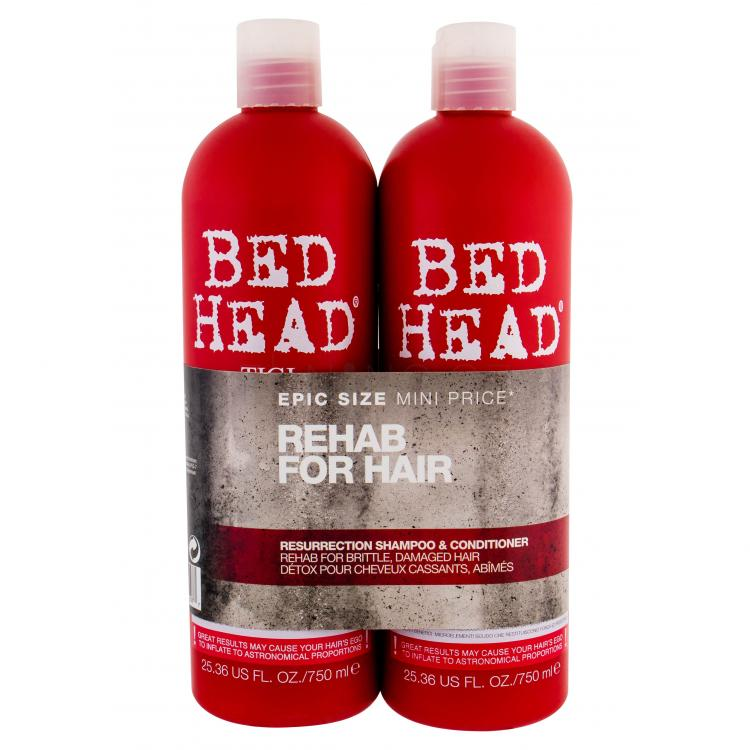 Tigi Bed Head Resurrection Duo Kit Dárková kazeta pro ženy šampon 750 ml + kondicionér 750 ml