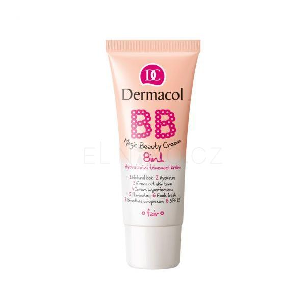 Dermacol BB Magic Beauty Cream SPF15 BB krém pro ženy 30 ml Odstín Nude