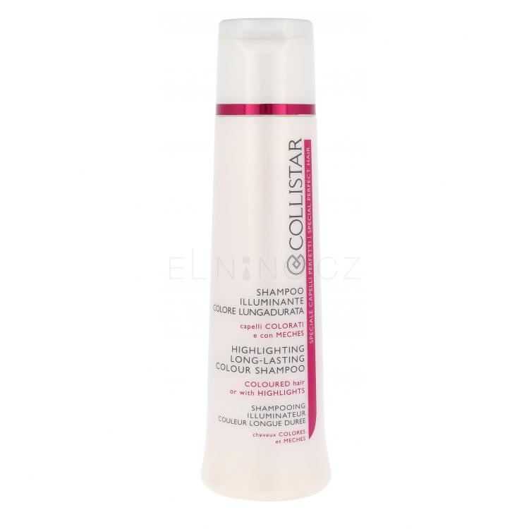 Collistar Long-Lasting Colour Highlighting Šampon pro ženy 250 ml