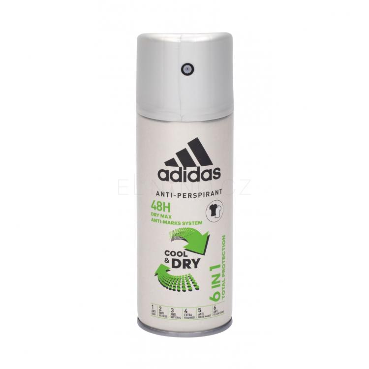 Adidas 6in1 Cool & Dry 48h Antiperspirant pro muže 150 ml