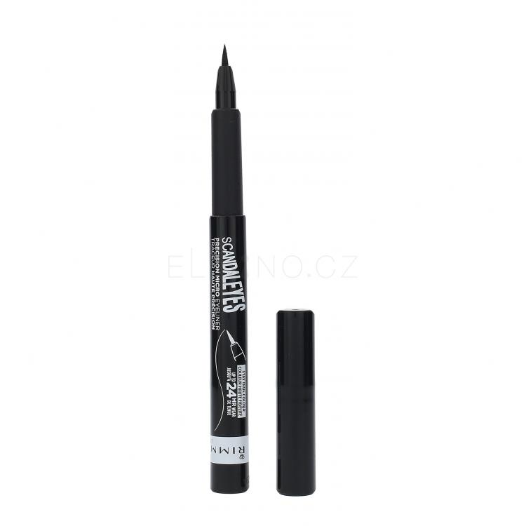 Rimmel London Scandal Eyes Precision Micro Oční linka pro ženy 1,1 ml Odstín 001 Black
