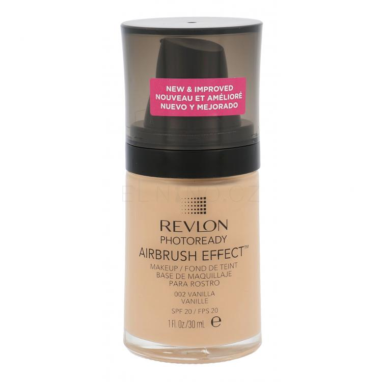 Revlon Photoready Airbrush Effect SPF20 Make-up pro ženy 30 ml Odstín 002 Vanilla
