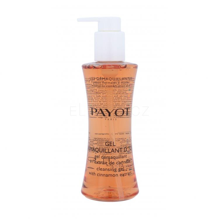 PAYOT Les Démaquillantes Cleasing Gel With Cinnamon Extract Čisticí gel pro ženy 200 ml