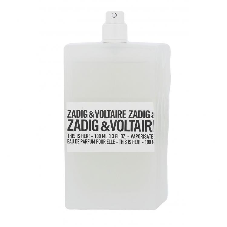 Zadig & Voltaire This is Her! Parfémovaná voda pro ženy 100 ml tester