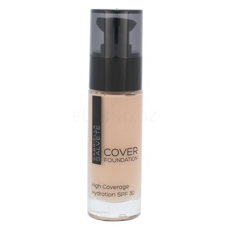 Gabriella Salvete Cover Foundation SPF30 Make-up pro ženy 30 ml Odstín 102 Beige