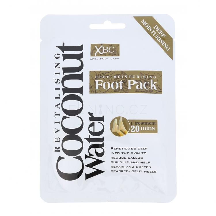 Xpel Coconut Water Deep Moisturising Foot Pack Krémy na nohy pro ženy