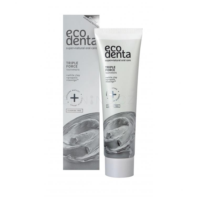 Ecodenta Toothpaste Triple Effect Zubní pasty